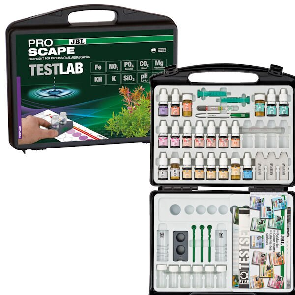 JBL Testlab ProScape (Testkoffer für Aquascaping) 14-2551100
