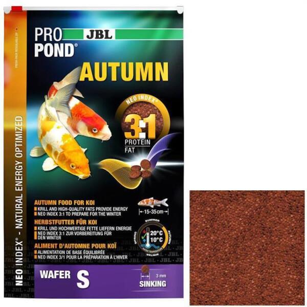 JBL Koifutter ProPond Autumn S 3,0 kg (Herbstfutter)