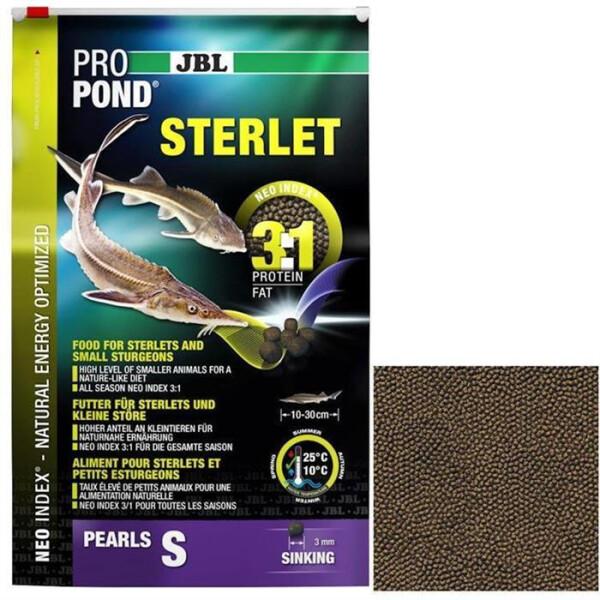 JBL Strfutter ProPond Sterlet S 3 kg