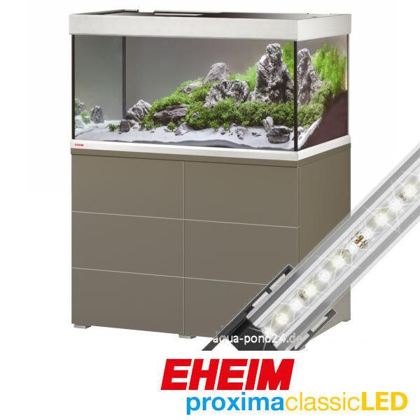 Eheim Aquariumkombination proxima 250 classicLED mokka 9-0492212