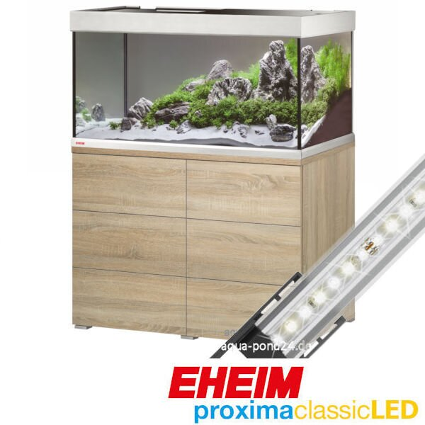 Eheim Aquariumkombination proxima 250 classicLED eiche 9-0492214