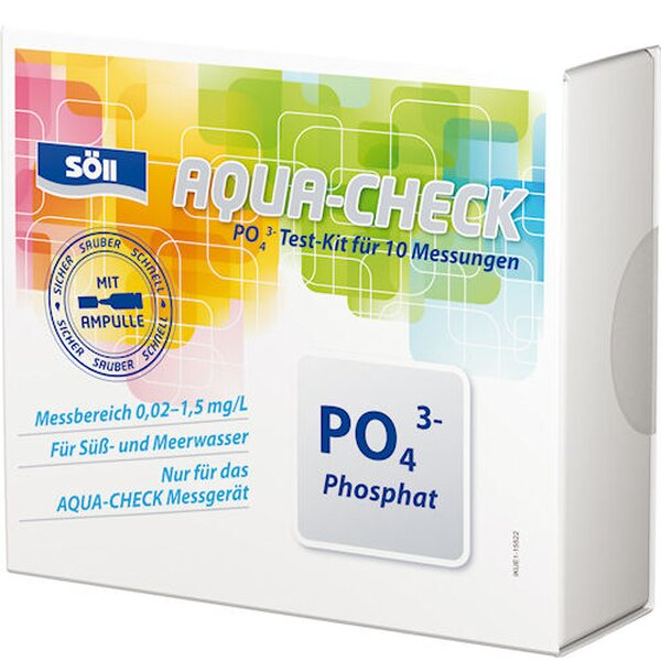 Söll Phosphat-Test für 10 Test für AQUA-CHECK 44-15330