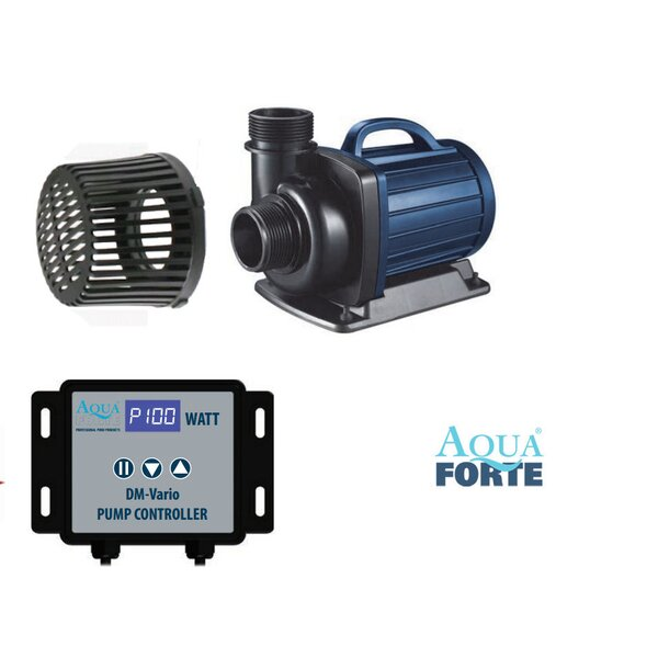 Aquaforte regelbare Teichpumpe DM-Vario S 22000 41-RD802