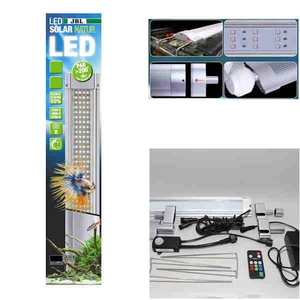 JBL Aquarien LED Solar NATUR 24W - 549-590mm