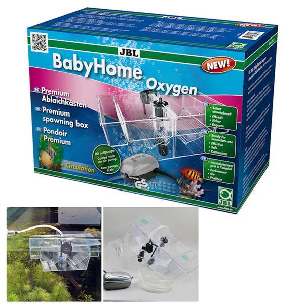 JBL BabyHome Oxygen (Ablaichkasten mit Luftpumpe) 14-6432000