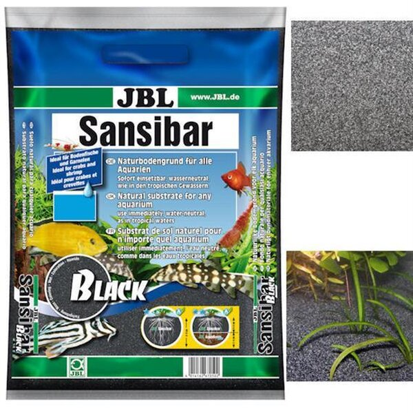 JBL Aquarienkies Sansibar BLACK 10kg