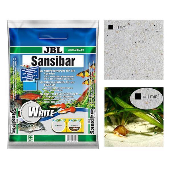 JBL Aquarienkies Sansibar WHITE 10kg