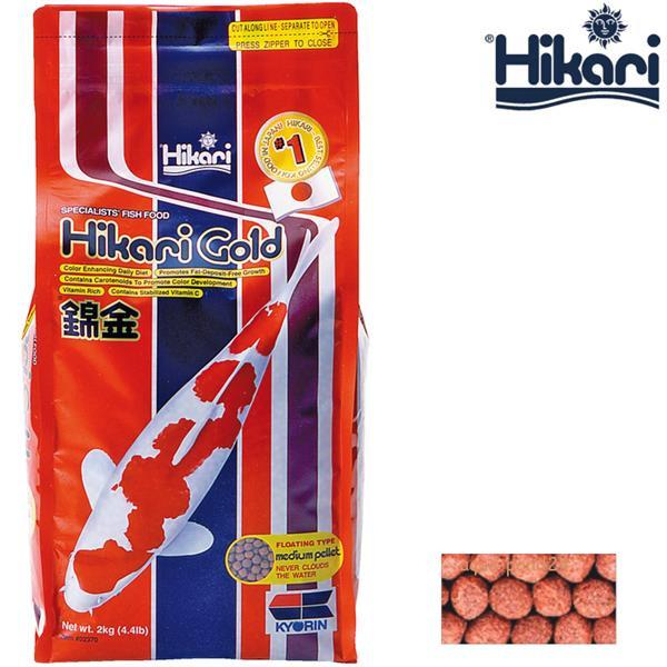 Hikari Koifutter gold medium 2 kg 2-03020122