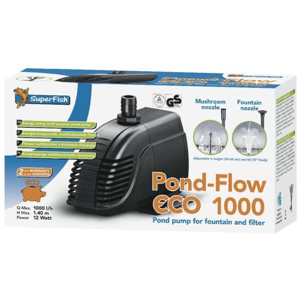 Superfish Pond Flow eco 1000 Springbrunnenpumpe 2-07060015