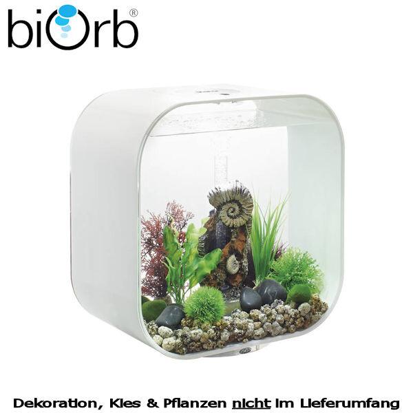 biOrb Design Aquarium Set LIFE 30 MCR weiß 29-45841