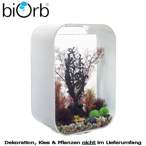 biOrb Design Aquarium Set LIFE 60 MCR weiß 29-72061