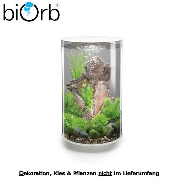 biOrb Design Aquarium Set TUBE 30 MCR weiß 29-72069