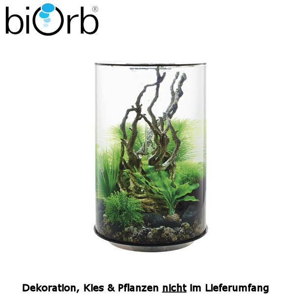 biOrb Design Aquarium Set TUBE 30 MCR schwarz 29-45965