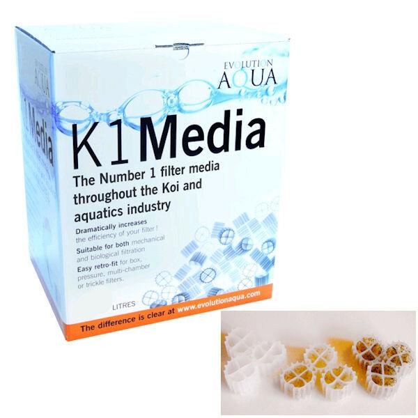 Unique Koi K1 Filtermedium 50 Liter (für Moving Bed Filter) 38-50058