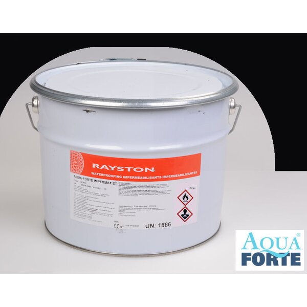 Aquaforte Impermax ST - flüssige Teichfolie - schwarz 10kg 41-MD512