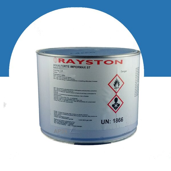 Aquaforte Impermax ST - flüssige Teichfolie - blau (RAL5015) 2.5kg 41-MD550