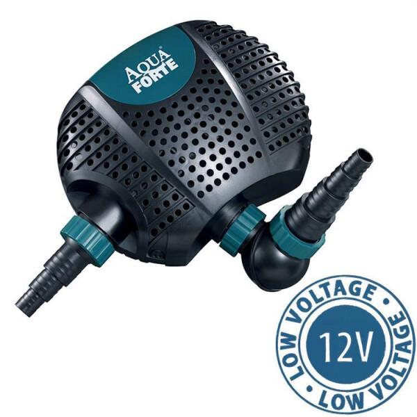Aquaforte Teichpumpe O-Plus 6500LV 12V (6500 L/h) 41-RD725