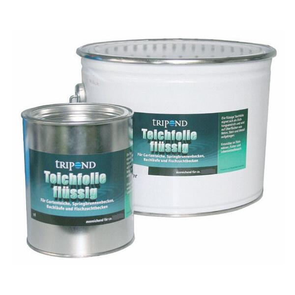 Tripond Teichfolie flüssig 30 Liter schwarz für ca. 45 m˛ 4-64010073